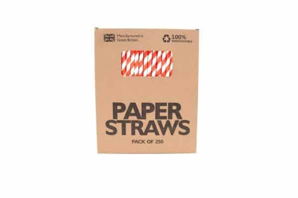 red paper straws